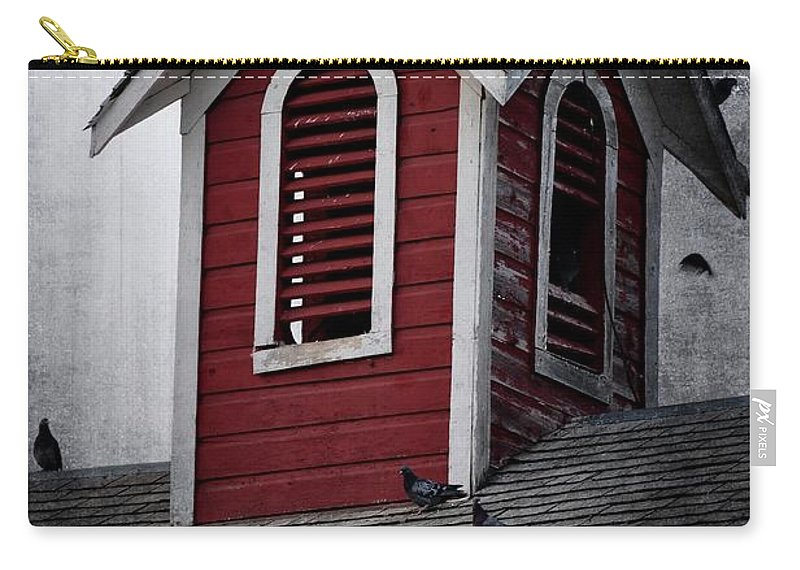 New Sweden Carry-all Pouch featuring the photograph Watching by Image Takers Photography LLC - Carol Haddon