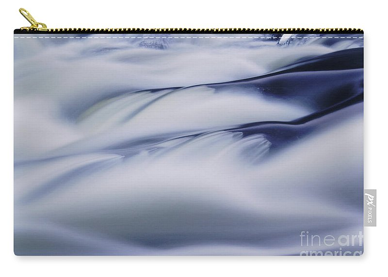 Nature Carry-all Pouch featuring the photograph Water Abstract by Aimelle