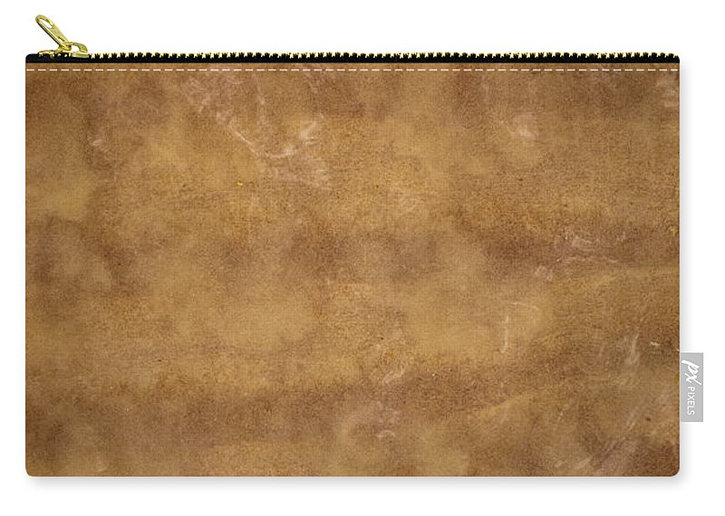 Abstract Carry-all Pouch featuring the photograph Water And Sand Background by Tim Hester
