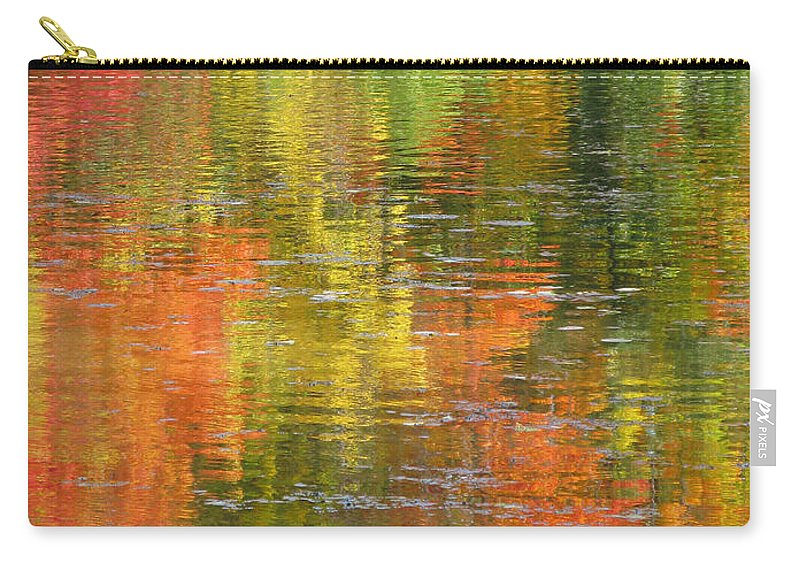 Autumn Carry-all Pouch featuring the photograph Water Colors by Ann Horn