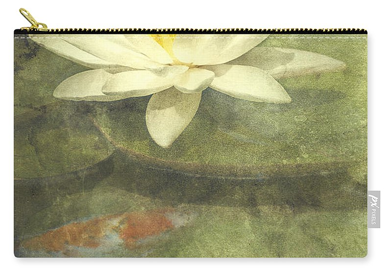 Water Lily Carry-all Pouch featuring the photograph Water Lily by Scott Norris