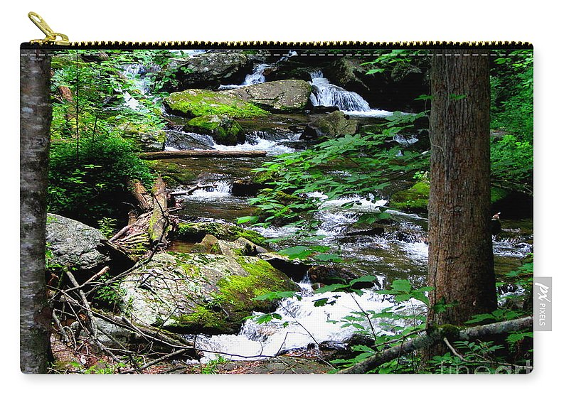 Patzer Carry-all Pouch featuring the photograph Water Shed by Greg Patzer