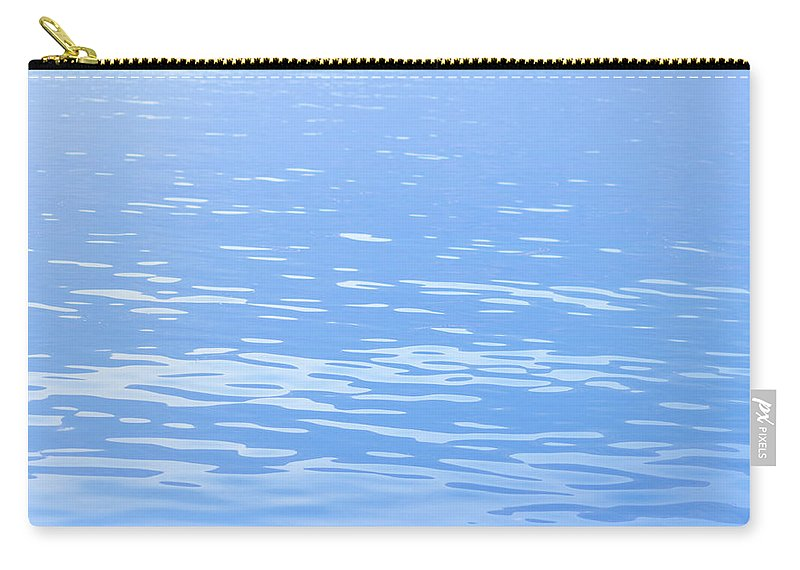Standing Water Carry-all Pouch featuring the photograph Water Surface Background by Mmac72