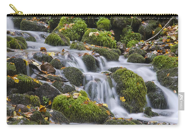 Anatolia Carry-all Pouch featuring the photograph Waterfall by Ayhan Altun