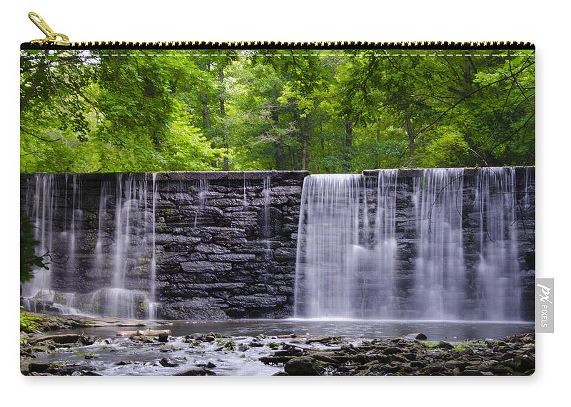 Waterfall Carry-all Pouch featuring the photograph Waterfall by Bill Cannon