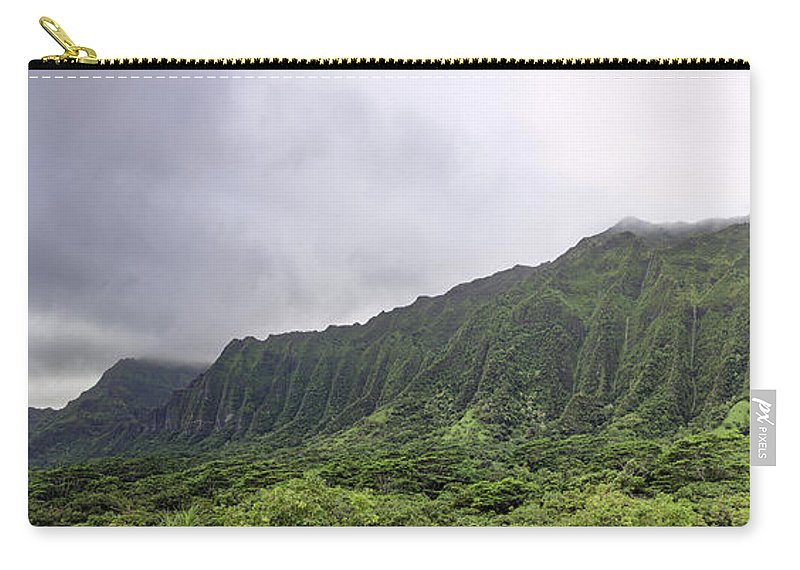 Hawaii Carry-all Pouch featuring the photograph Waterfall Heaven by Dan McManus