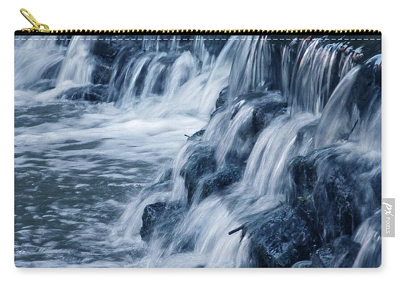 Waterfall Carry-all Pouch featuring the photograph Waterfall by Jewell McChesney