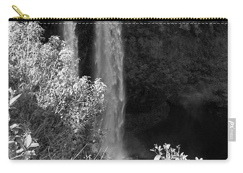 Waterfall Carry-all Pouch featuring the photograph Waterfall by Jo Jurkiewicz