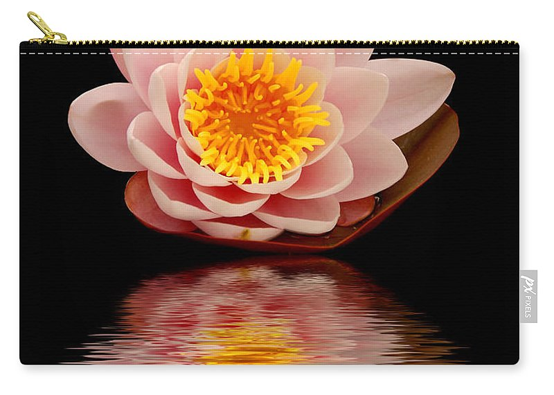 Aquatic Carry-all Pouch featuring the photograph Waterlily by TouTouke A Y