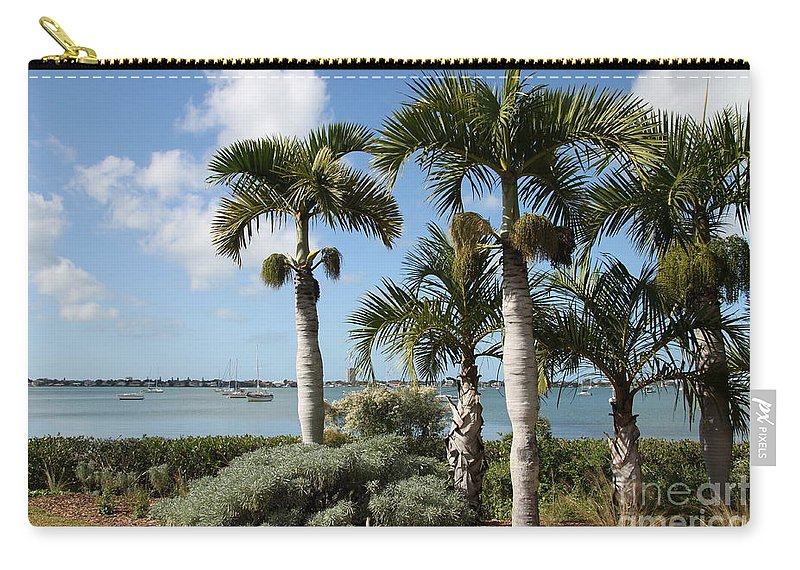 Sea Carry-all Pouch featuring the photograph Waterview by Christiane Schulze Art And Photography