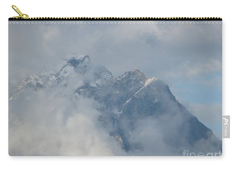 Patzer Carry-all Pouch featuring the photograph Way Up Here by Greg Patzer