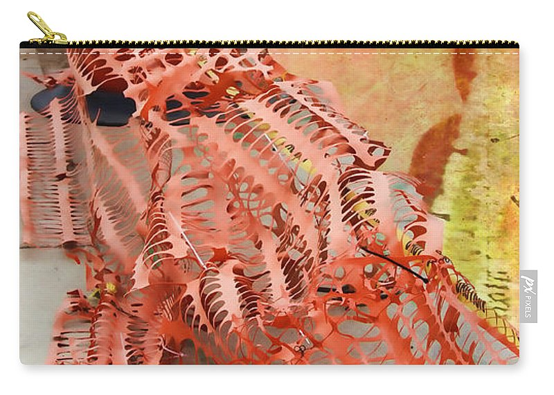 School Carry-all Pouch featuring the photograph Web II by Sylvia Thornton