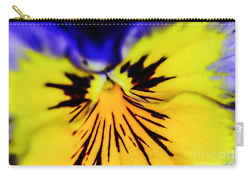 Landscape Carry-all Pouch featuring the photograph Wee Kiss Of The Sun by Elvis Vaughn