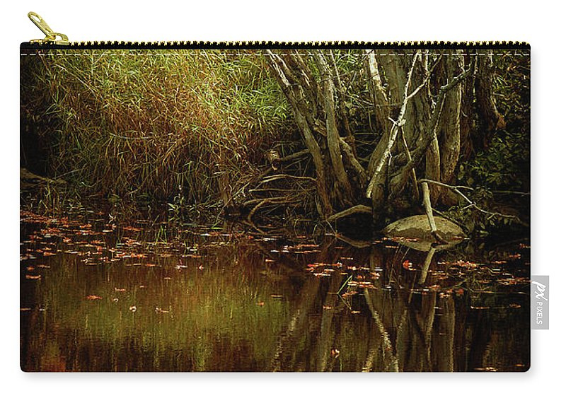 Cindi Ressler Carry-all Pouch featuring the photograph Weeping Branch by Cindi Ressler
