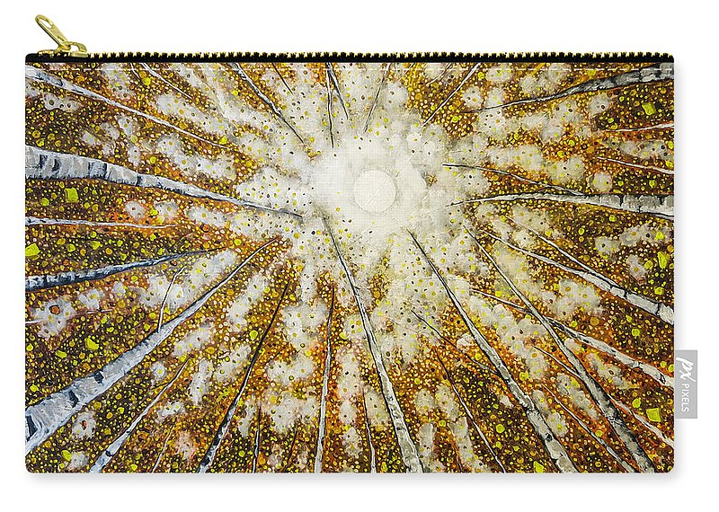 Trees Carry-all Pouch featuring the painting Welcome Home by Joel Tesch