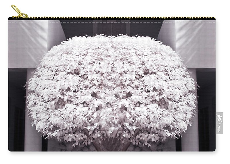 3scape Photos Carry-all Pouch featuring the photograph Welcome Tree Infrared by Adam Romanowicz