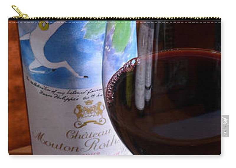 Chateau Mouton Rothschild Carry-all Pouch featuring the photograph Well Remembered by Jon Neidert