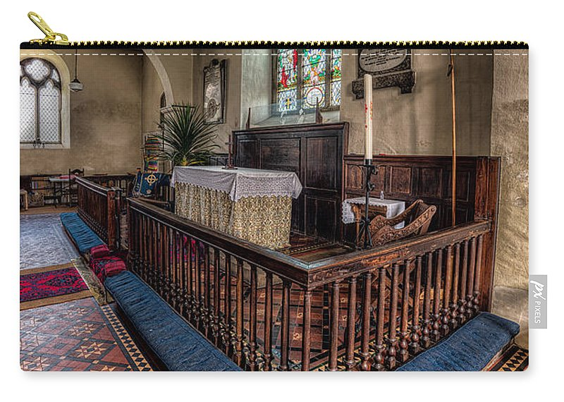 British Carry-all Pouch featuring the photograph Welsh Chapel by Adrian Evans