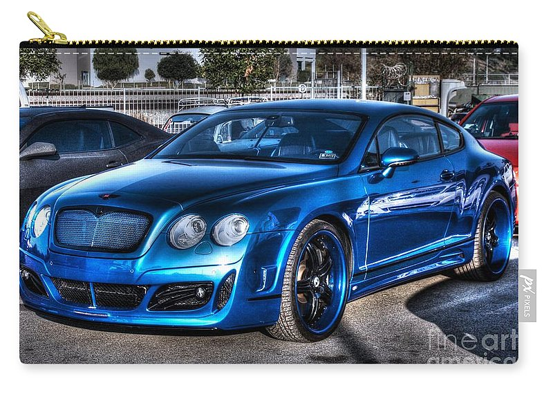 2009 Carry-all Pouch featuring the photograph West Coast Bently Cgt by Tommy Anderson