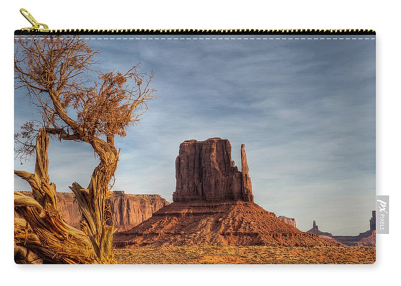 Scenics Carry-all Pouch featuring the photograph West Mitten by Merilee Phillips