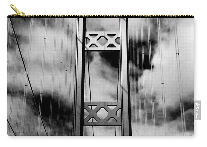 Tacoma Narrows Carry-all Pouch featuring the photograph Westbound by Benjamin Yeager
