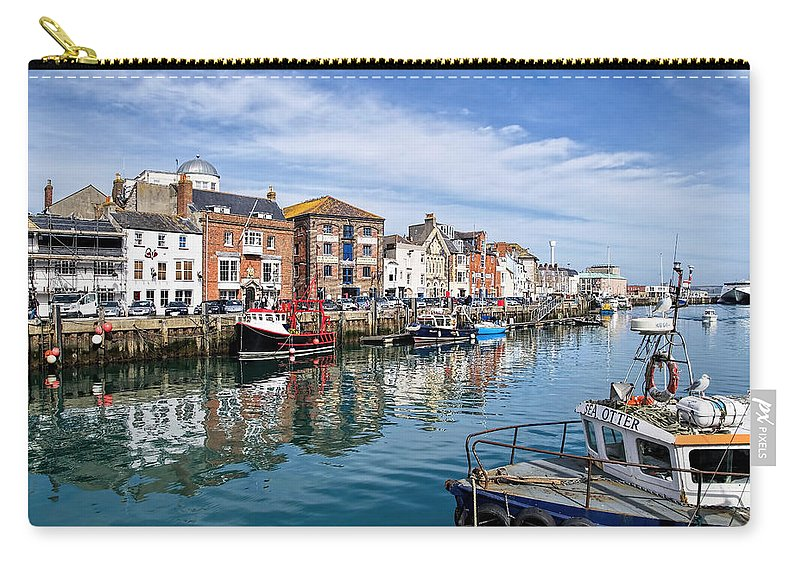 Harbour Carry-all Pouch featuring the photograph Weymouth Harbour by Susie Peek