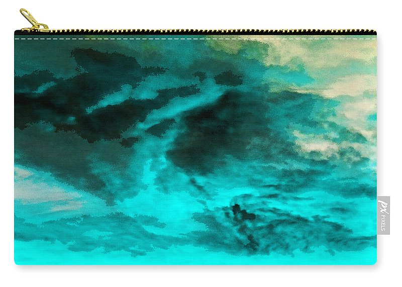 Acid Rain Carry-all Pouch featuring the photograph Whatever Become Of Acid Rain? by Steve Taylor