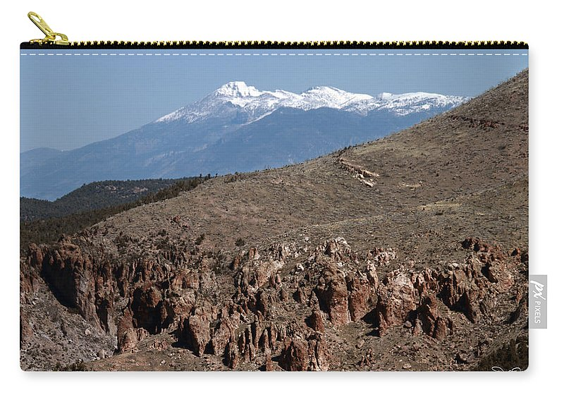 Landscape Carry-all Pouch featuring the photograph Wheeler Peak by David Salter