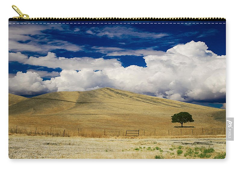 Antioch Carry-all Pouch featuring the photograph When You Walk My Way by Laurie Search
