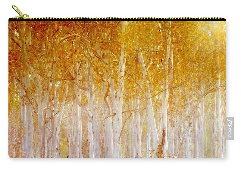 Landscapes Carry-all Pouch featuring the photograph Where The Sun Shines by Holly Kempe