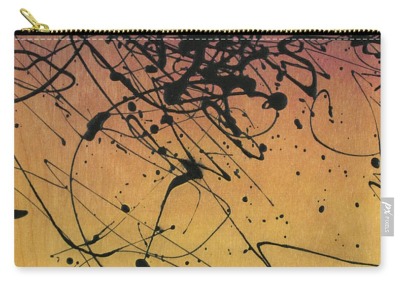 Sisyphus Carry-all Pouch featuring the painting While Sisyphus Slept by James W Johnson