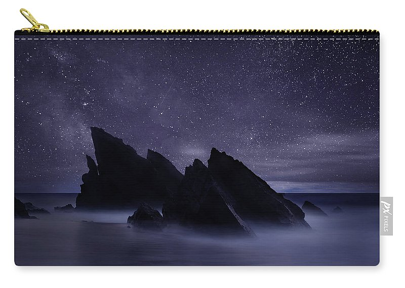 Night Carry-all Pouch featuring the photograph Whispers of eternity by Jorge Maia