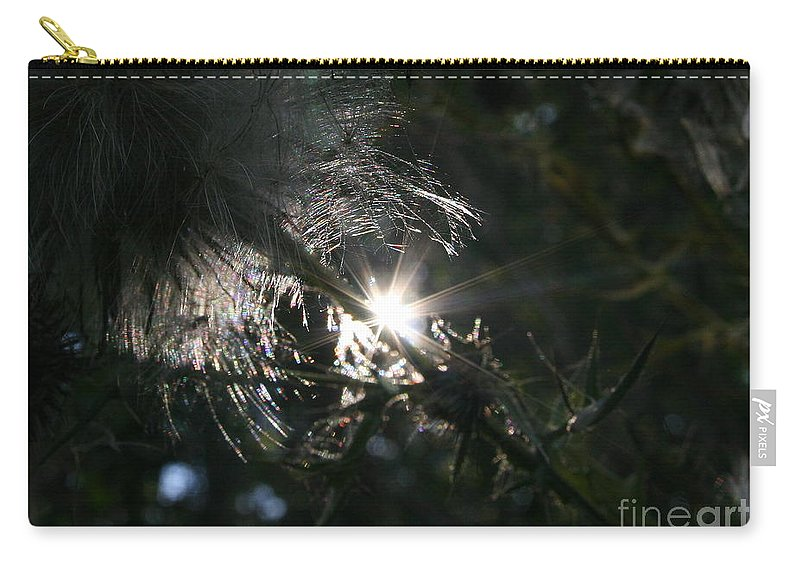 Sun Carry-all Pouch featuring the photograph Whisps And Glares by Neal Eslinger