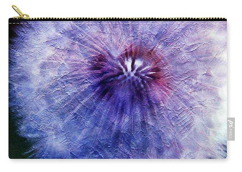 Flowers Carry-all Pouch featuring the photograph White Flower by Karl Rose