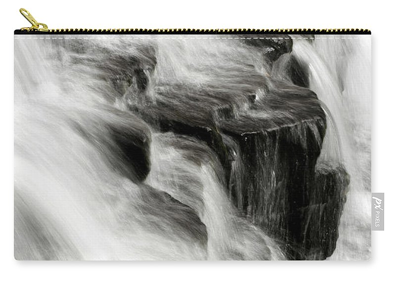 Waterfall Carry-all Pouch featuring the photograph White Water Falls by Christina Rollo
