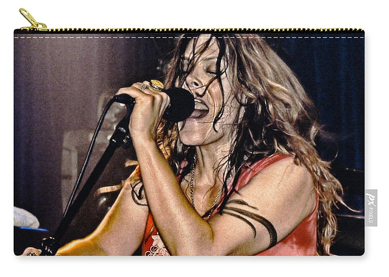 Beth Hart Carry-all Pouch featuring the photograph Whole Lotta Power by Joachim G Pinkawa