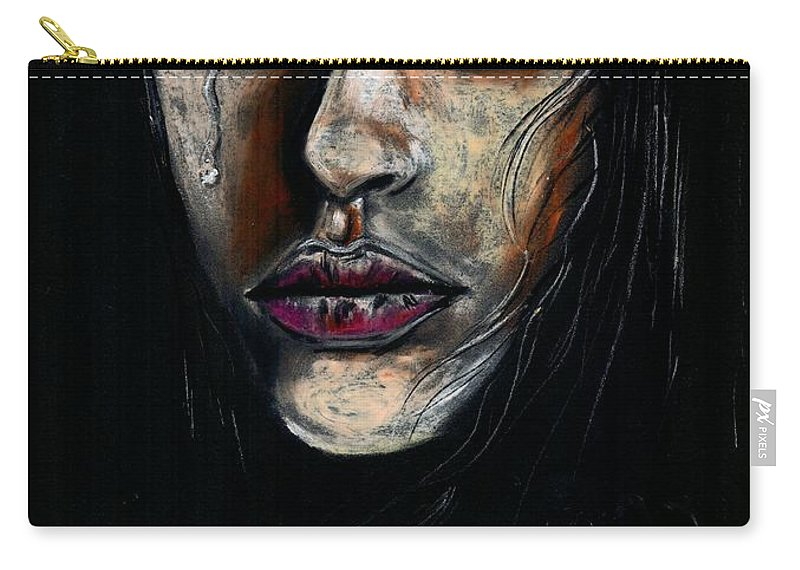 Life Carry-all Pouch featuring the photograph Why couldnt you choose me by Artist RiA