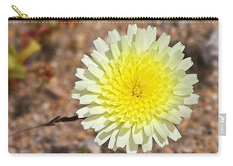 Wild Flower Carry-all Pouch featuring the photograph Wickiup Wild Flower by Tom Janca