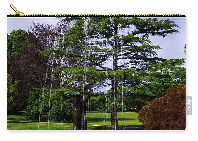 Wilcox Carry-all Pouch featuring the photograph Wilcox Park by Joe Geraci