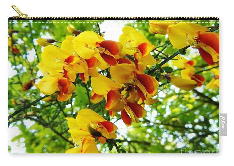 Floral Carry-all Pouch featuring the photograph Wild And Beautiful by Loreta Mickiene