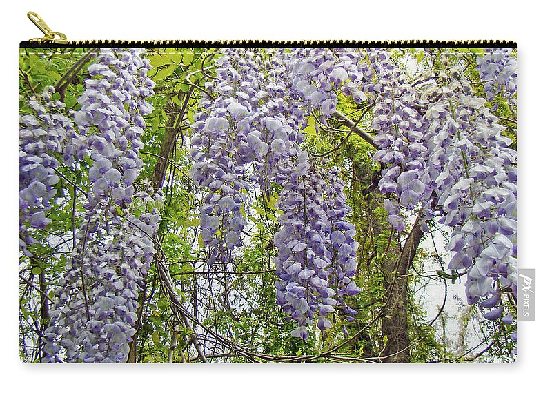 Wisteria Carry-all Pouch featuring the photograph Wild Child Of The Woods by Mother Nature