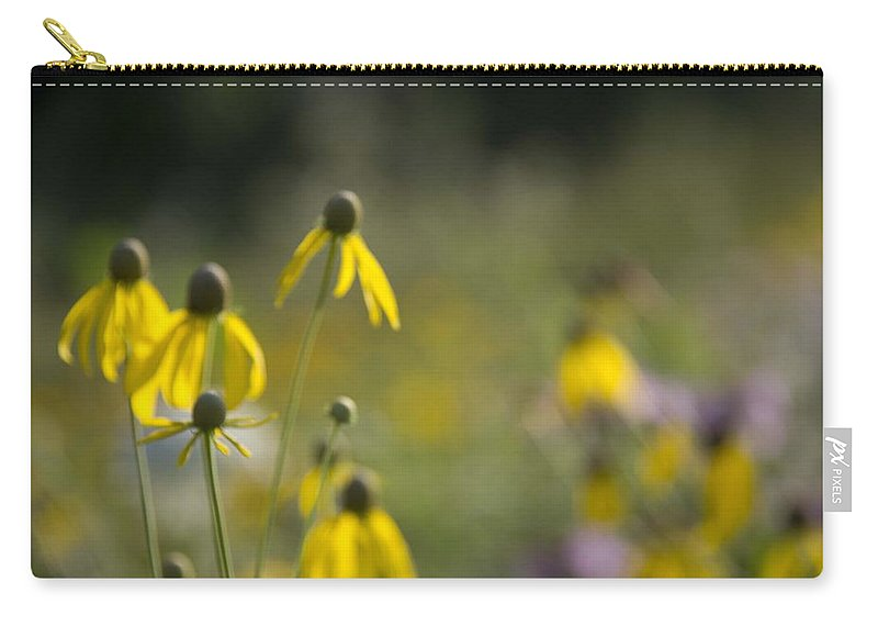 Wild Carry-all Pouch featuring the photograph Wild Flowers by Daniel Sheldon