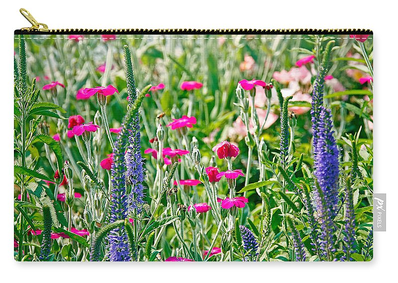 Flowers Carry-all Pouch featuring the photograph Wild Flowers by Deb Buchanan