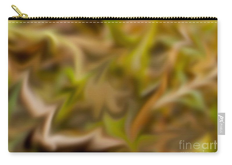 Abstract Carry-all Pouch featuring the photograph Wild Wetlands by Photos By Cassandra