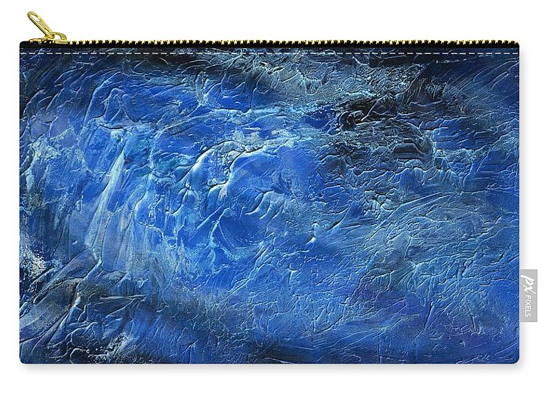 Wild Carry-all Pouch featuring the painting Wild Wild Sea by Hakon Soreide