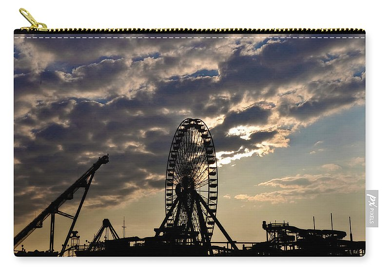 Wildwood Carry-all Pouch featuring the photograph Wildwood Rides by Bill Cannon