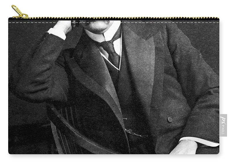 19th Century Carry-all Pouch featuring the photograph William Osler (1849-1919) by Granger