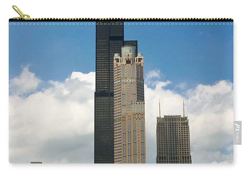 3scape Carry-all Pouch featuring the photograph Willis Tower Aka Sears Tower by Adam Romanowicz