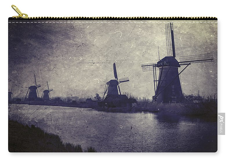 Mill Carry-all Pouch featuring the photograph Windmills by Joana Kruse