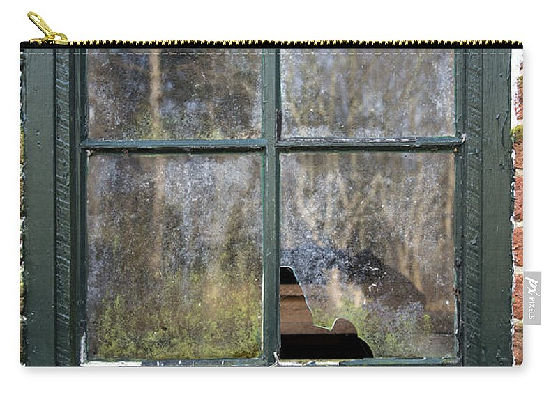 2d Carry-all Pouch featuring the photograph Window At Abbott's Mill by Brian Wallace